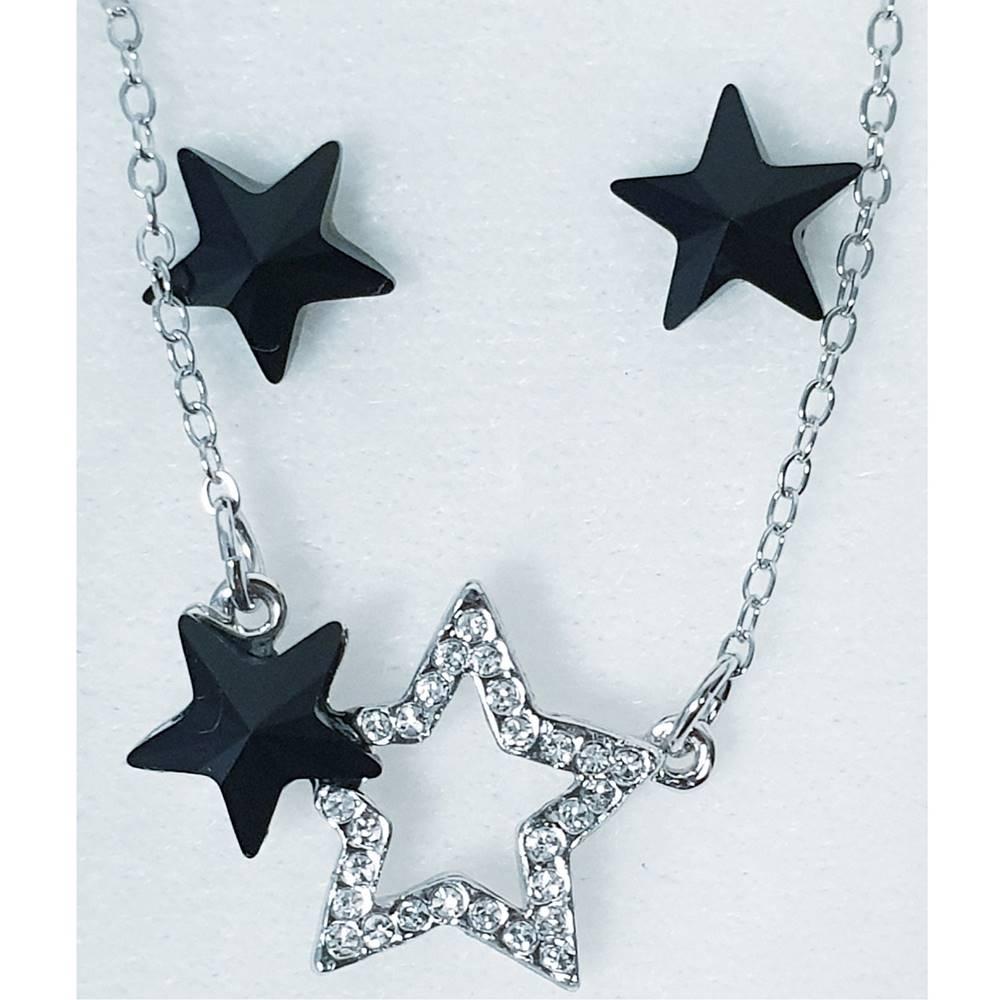 Izmael Set Stars SWAROVSKI-Čierna