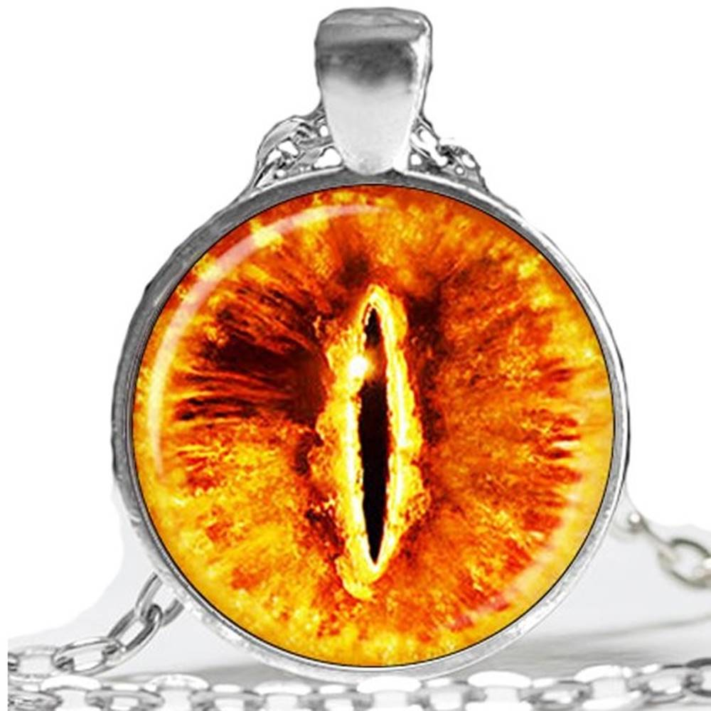 Izmael Náhrdelník Evil Eye-Strieborná