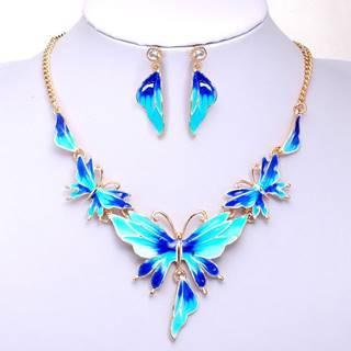 Set Fly Butterfly - Modrá