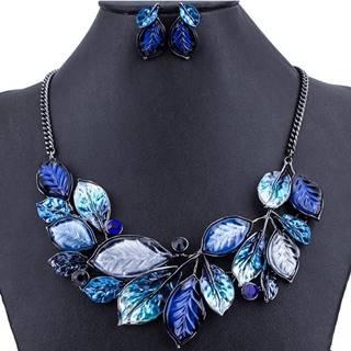Set Leaves Consort-Modrá