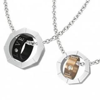 Prívesok pre dvojicu - matica s vnútorným prstencom