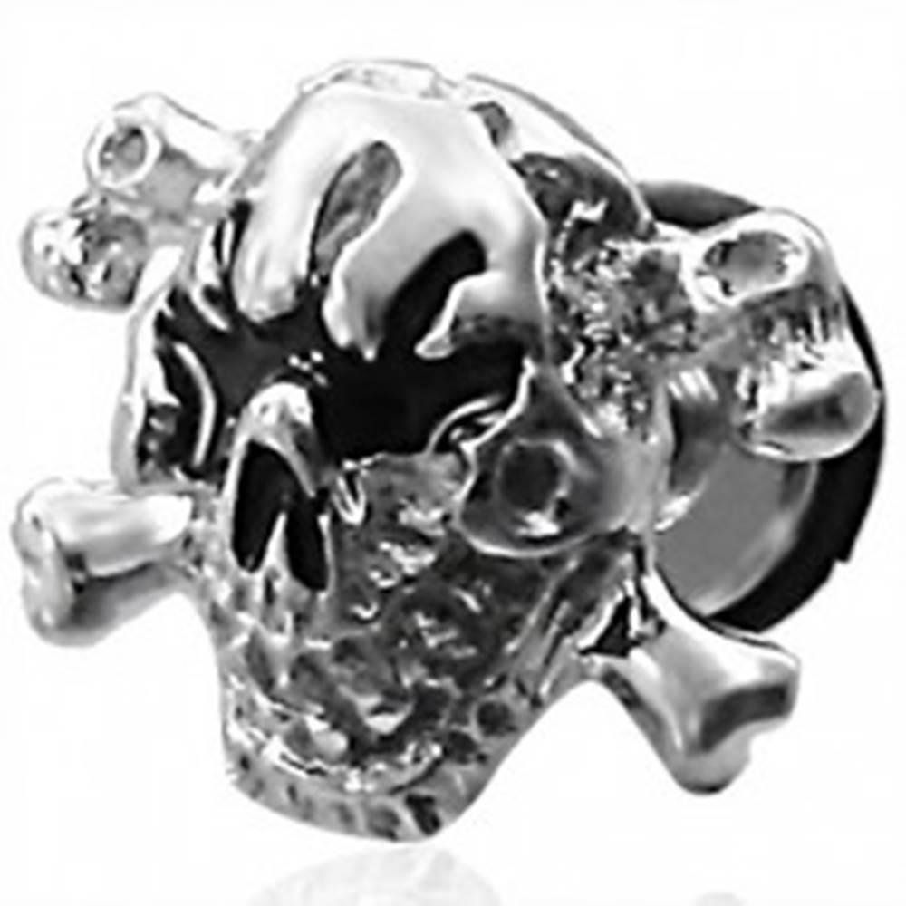 Šperky eshop Falošný piercing lebka