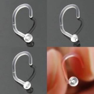 Piercing do nosa BioFlex - rôzne hlavičky - Tvar hlavičky: Gulička