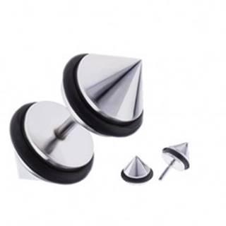 Kužeľový fake plug do ucha z chirurgickej ocele