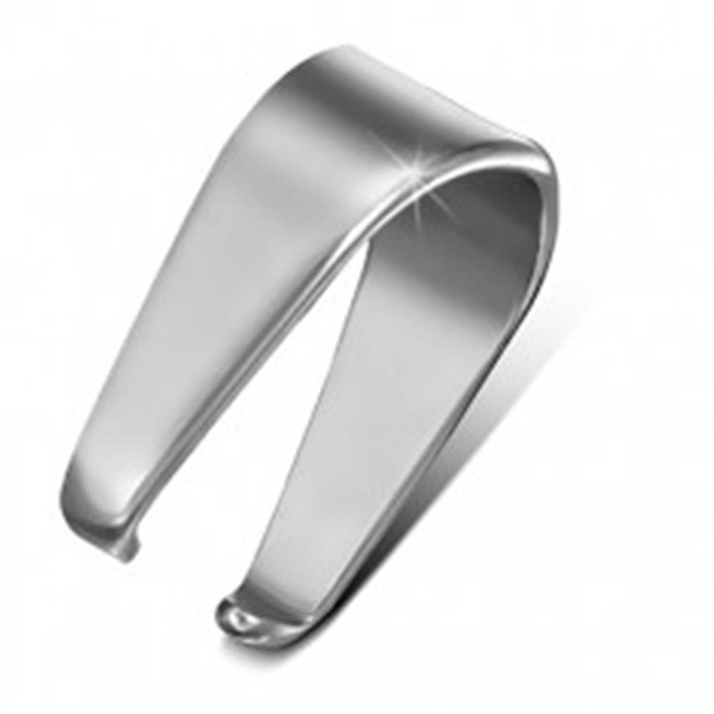 Šperky eshop Oceľový háčik striebornej farby na prívesok, 4,5 mm