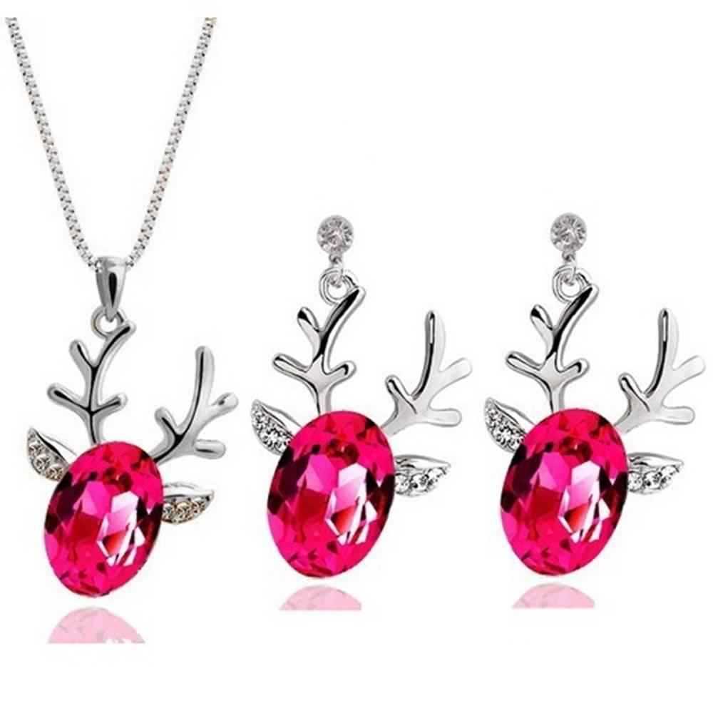 Izmael Set šperkov Sobík - Ružová