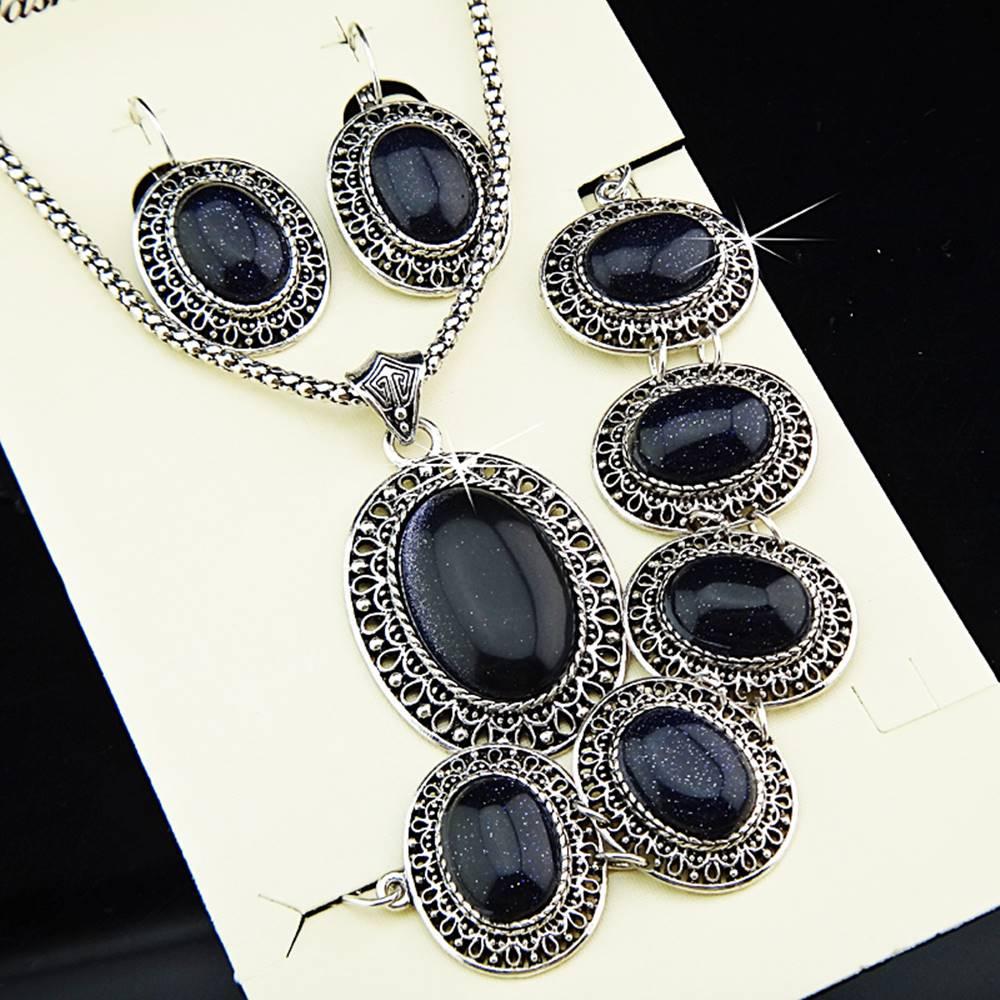 Izmael Set Antique Vintage - Čierna