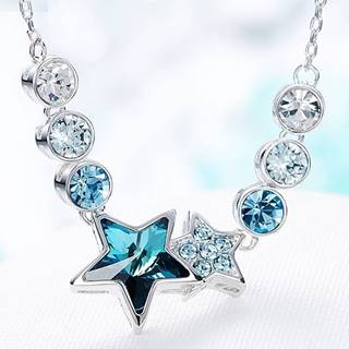 Náhrdelník Blue Star EXCLUSIVE-Modrá